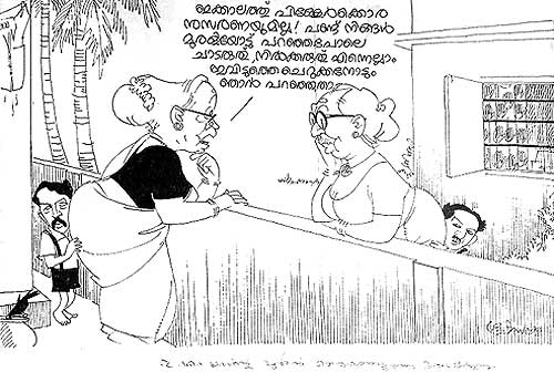 life and times of cartoonist yesudasan  work